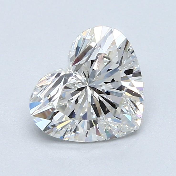 2.03 Carat G-VS1 Ideal Heart Diamond