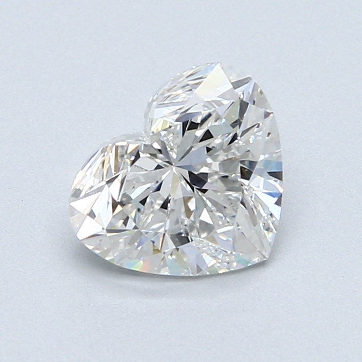 1.58 Carat E-VS1 Ideal Heart Diamond
