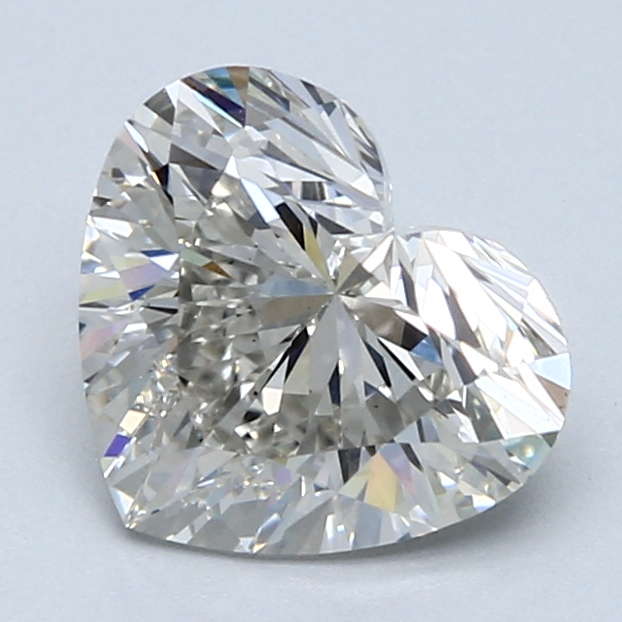 2.15 Carat H-VS1 Ideal Heart Diamond