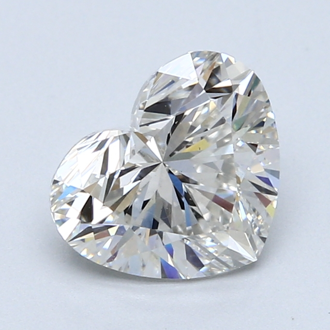 2.02 Carat G-VS1 Ideal Heart Diamond