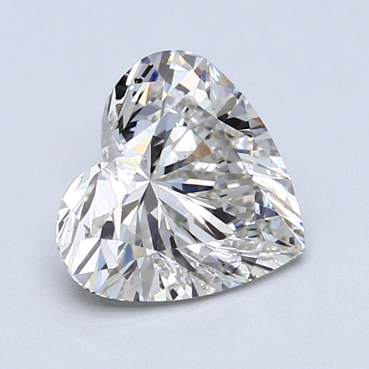 2.09 Carat H-VS1 Ideal Heart Diamond
