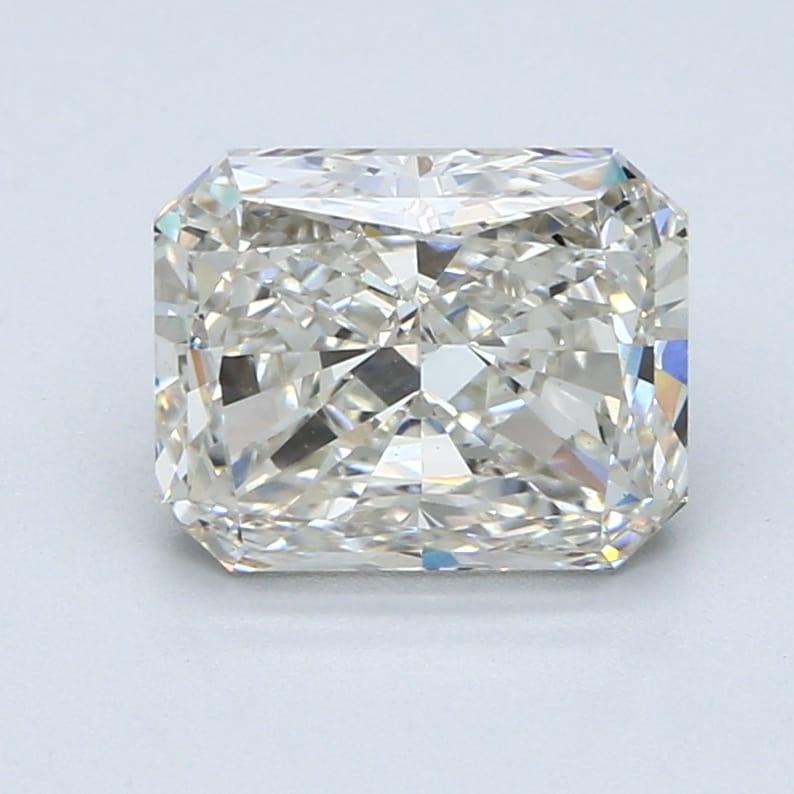 3.02 Carat I-VS1 Ideal Radiant Diamond