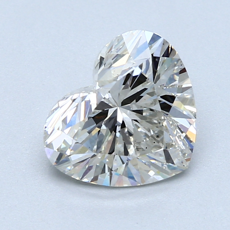 2.23 Carat H-VS2 Ideal Heart Diamond