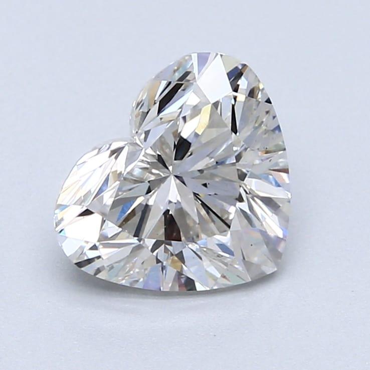 2.01 Carat H-VS2 Ideal Heart Diamond