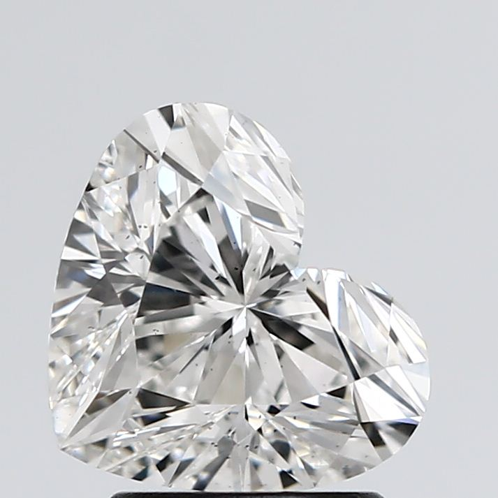 2.01 Carat F-VS2 Ideal Heart Diamond