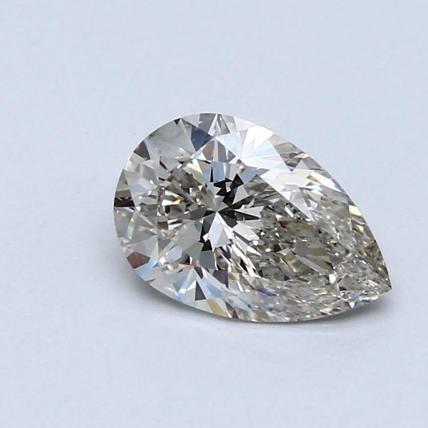 1.54 Carat I-VS1 Ideal Pear Diamond