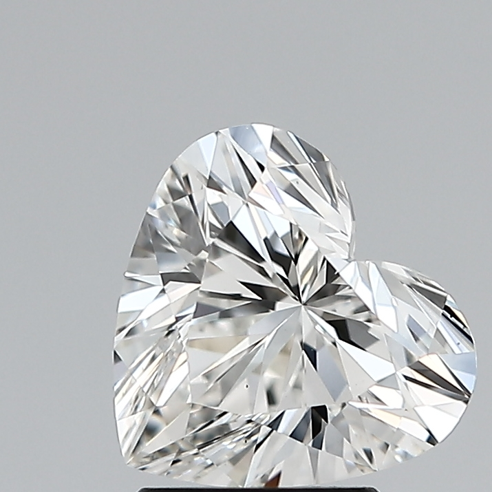 2.10 Carat F-VS1 Ideal Heart Diamond