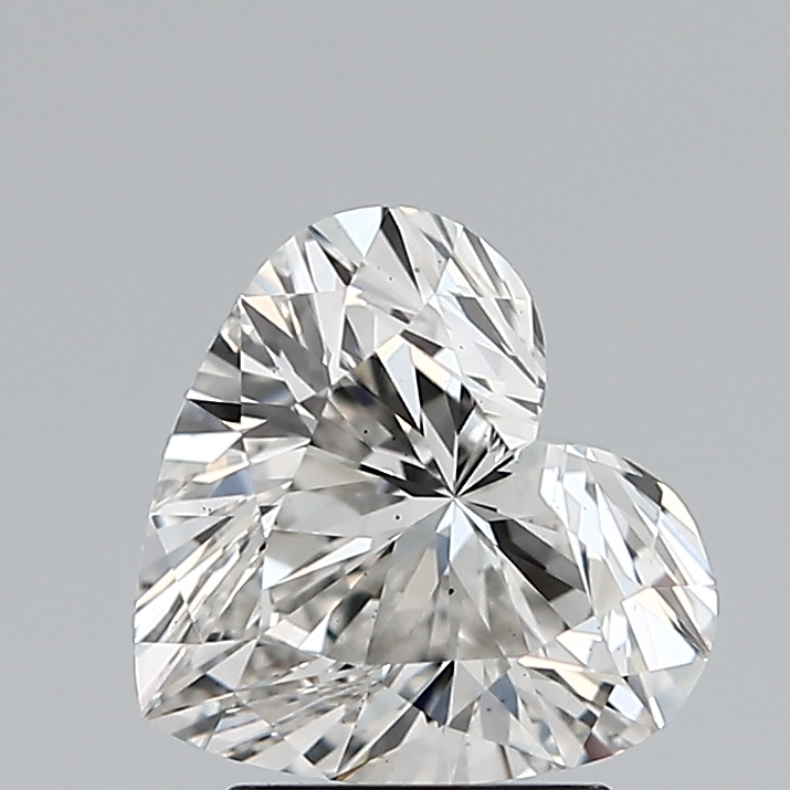 2.03 Carat F-VS2 Ideal Heart Diamond