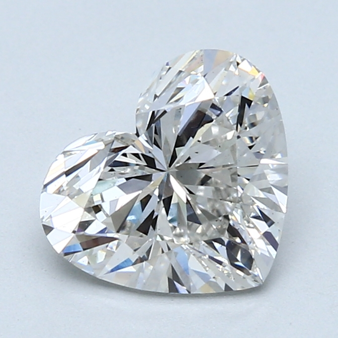 2.13 Carat G-VS2 Ideal Heart Diamond