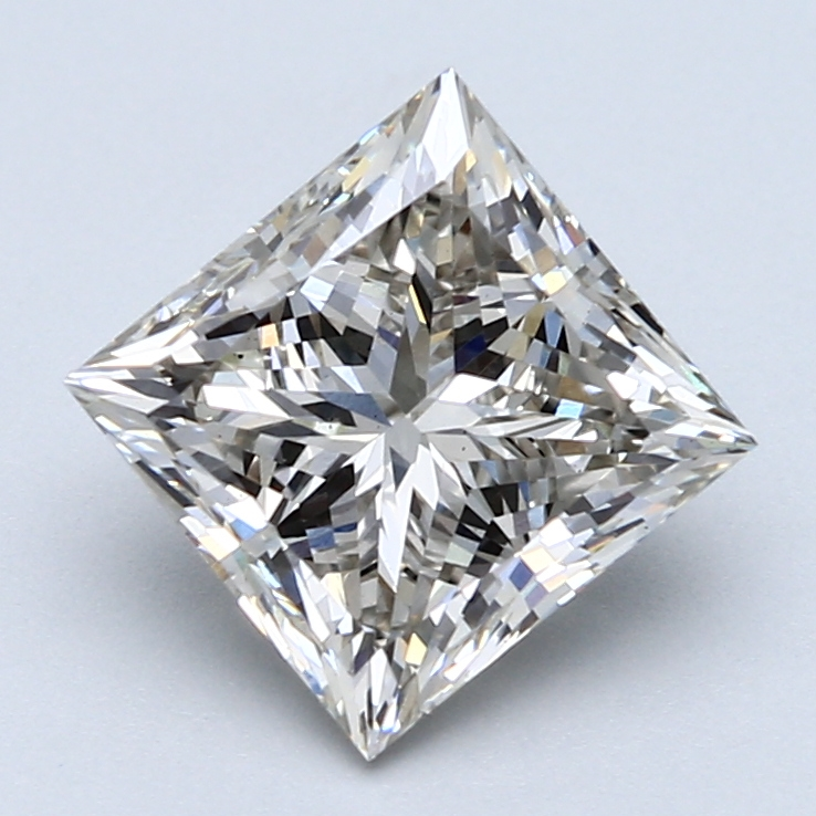 3.01 Carat I-VS1 Ideal Princess Diamond