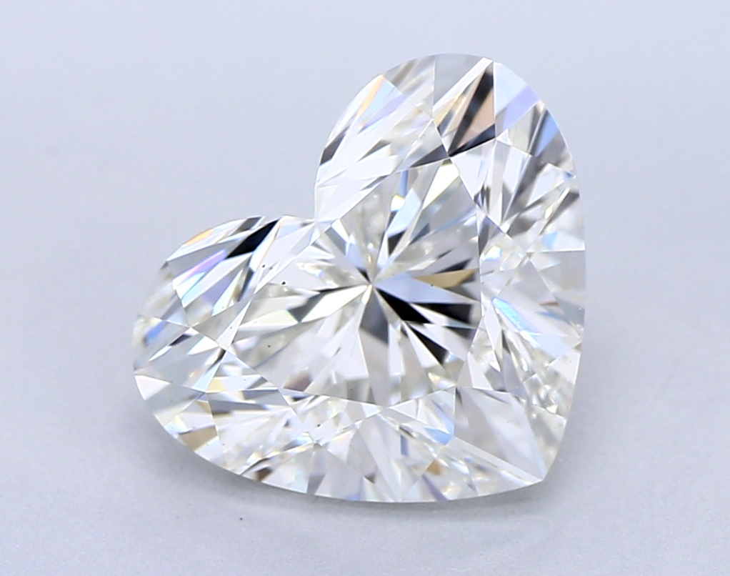 2.01 Carat G-VS1 Ideal Heart Diamond