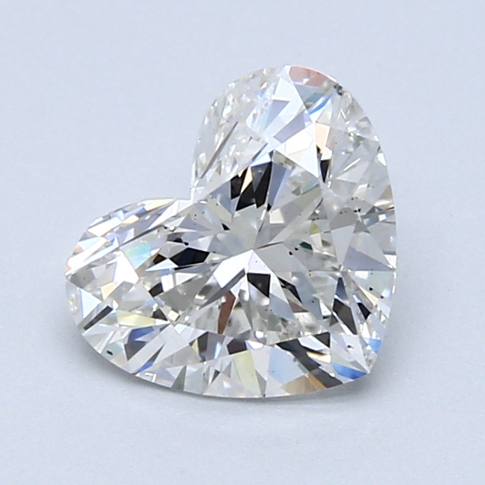 1.61 Carat F-VS2 Ideal Heart Diamond