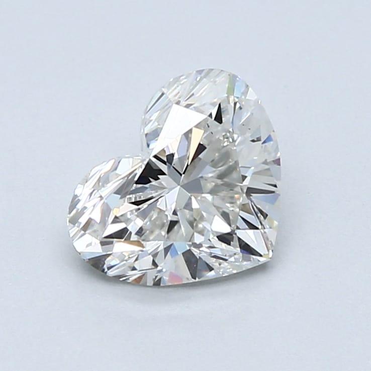 1.50 Carat F-VS2 Ideal Heart Diamond