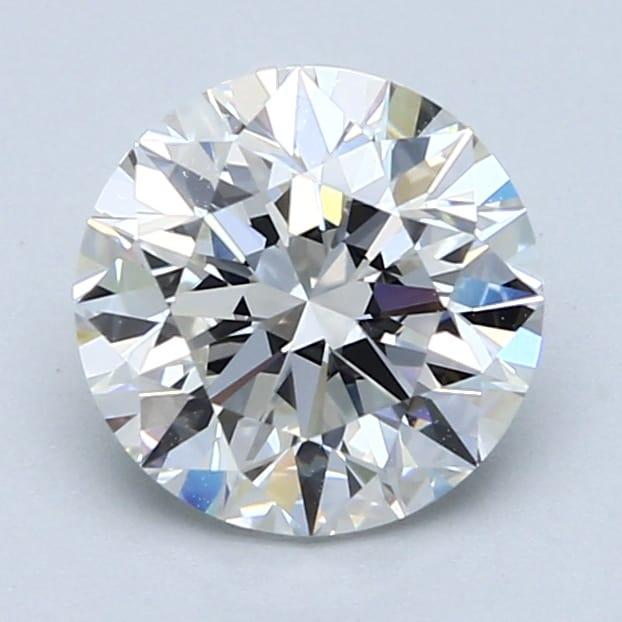 2.01 Carat F-VVS2 Very Good Round Diamond