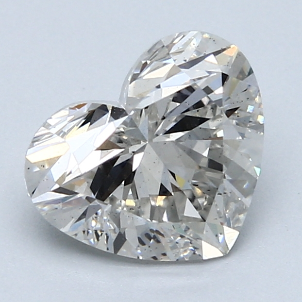 2.11 Carat G-VS2 Ideal Heart Diamond